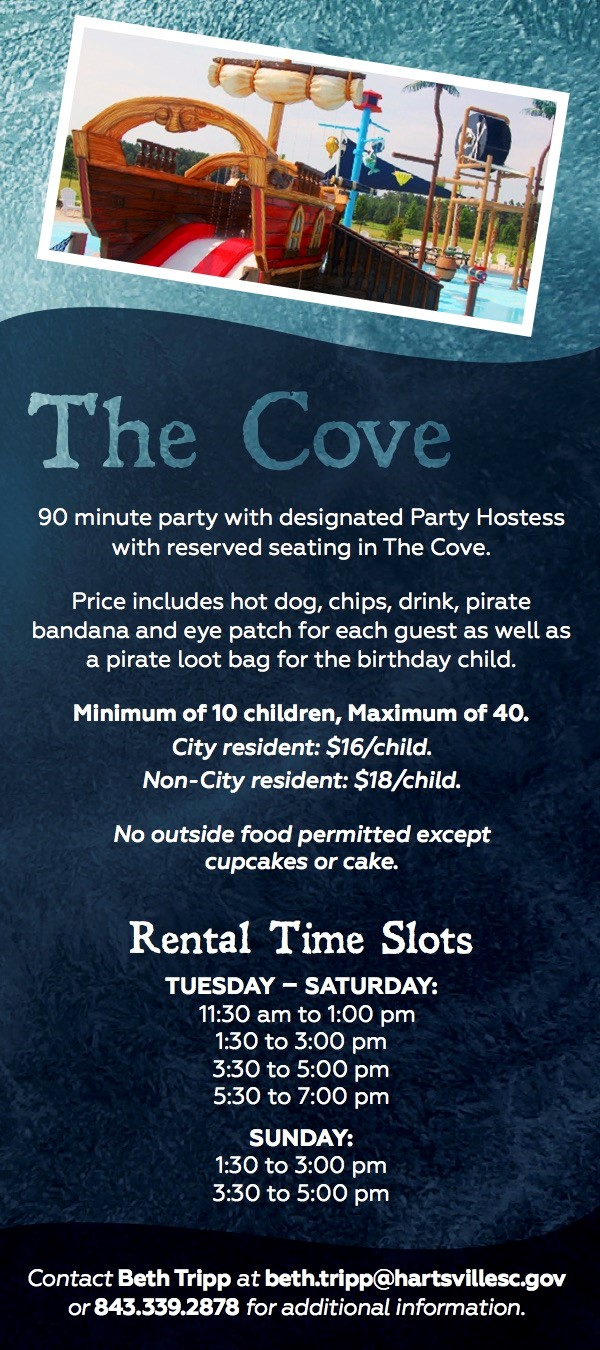 Piratesville Rental Card 2