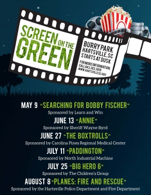 Screen on the Green poster