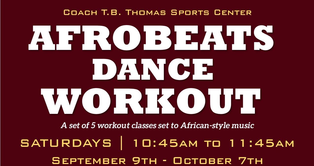 Afrobeats Dance Workout
