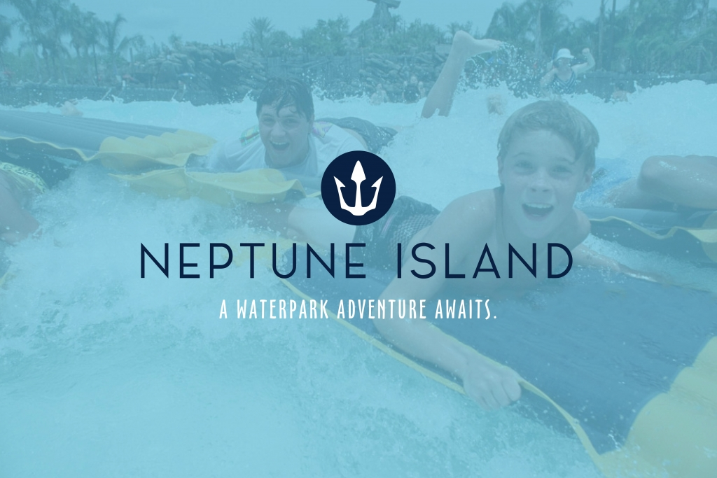 Neptune Island: A waterpark adventure awaits.